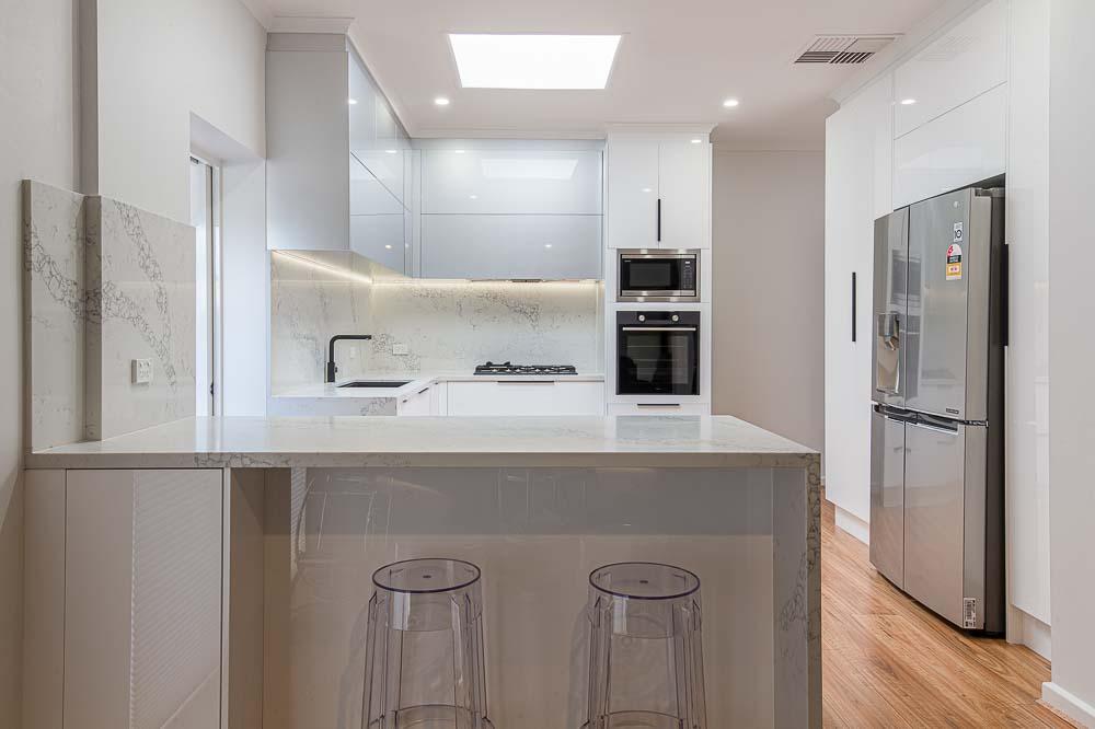 Trinity Gardens home renovation kitchen
