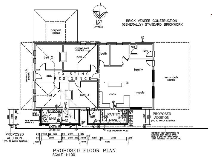 Trinity Gardens home renovation plans